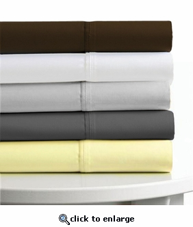 Tribeca Living Egyptian Cotton 600 Thread Count 6-Piece Extra Deep Fitted Sheet Set