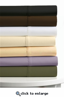 Tribeca Living Egyptian Cotton Percale 300 Thread Count Pillowcases