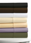 Egyptian Cotton Percale 300 Thread Count Twin Extra Deep Fitted Sheet Set