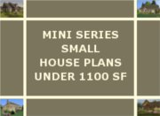 TINY HOUSE PLANS UNDER 1100 SQ FT