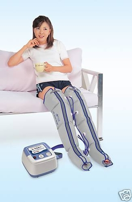 Air sequential compression leg therapy massager - Half leg