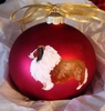 Shetland Sheepdog Hand Painted Christmas Ornament