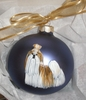 Shih Tzu Hand Painted Christmas Ornament