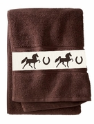 American Saddlebred Bath Towels