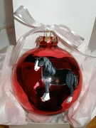 Shire Hand Painted Christmas Ornament