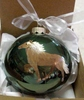 Icelandic Horse Hand Painted Christmas Ornament