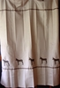 Mule Shower Curtain