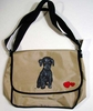 Poodle Puppy Messenger Bag