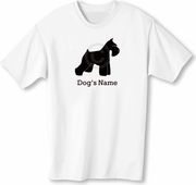 Miniature Schnauzer Personalized T-shirt