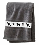 Miniature Schnauzer Bath Towels