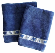 Bulldog Bath Towels