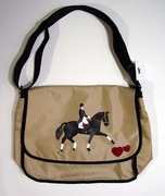 Dressage Messenger Bag