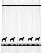 American Staffordshire Terrier Shower Curtain