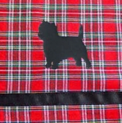 Cairn Terrier Window Valance