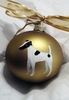Smooth Fox Terrier Hand Painted Christmas Ornament