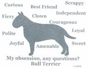 Bull Terrier Obsession T-Shirt
