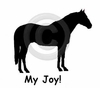 Quarter Horse My Joy! My Love! My Life! Sweatshirt