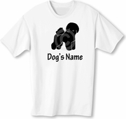 Bichon Frise T-Shirt Personalized with Dog's Name