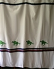 Thoroughbred Racing Shower Curtain
