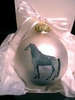 Trakehner Hand Painted Christmas Ornament