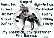 Fine Harness Obsession T-Shirt
