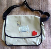 Silky Terrier Messenger Bag