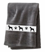 Giant Schnauzer Bath Towels