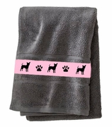 Chihuahua - Smooth Bath Towels