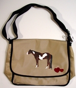 Paint Horse Messenger Bag