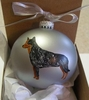 Australian Cattle Dog Hand Painted Christmas Ornament
