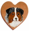 Australian Shepherd Hand Painted Pin