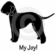 Bedlington Terrier My Joy! My Love! My Life! Long Sleeve T-Shirt