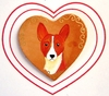 Basenji Original Hand Painted Pin