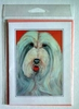 Bearded Collie Original Artwork Greeting cards - Set of Five