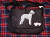 Bedlington Terrier Messenger Bag