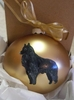 Belgian Sheepdog Hand Painted Christmas Ornament