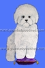 Bichon Frise Original Artwork Greeting cards - Set of Five