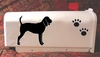 Black and Tan Coonhound Mail Box