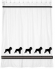 Brussels Griffon Shower Curtain