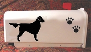 Flat-Coated Retriever Mail Box