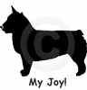 Swedish Vallhund My Joy! My Love! My Life! T-Shirt