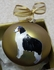 Australian Shepherd Hand Painted Christmas Ornament