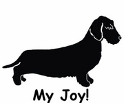 Dachshund Wirehaired My Joy! My Love! My Life! Long Sleeve T-Shirt