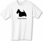 Scottish Terrier T-Shirt Personalized with Name!