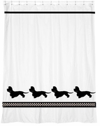 Dandie Dinmont Terrier Shower Curtain