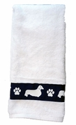 Hand Towel - Dog