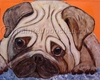 Pug Original Art T-Shirt
