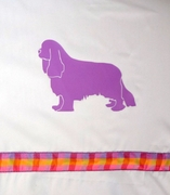 Cavalier King Charles Spaniel Shower Curtain