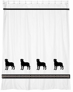 Bullmastiff Shower Curtain
