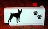 Toy Fox Terrier Mail Box